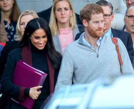 Príncipe Harry y Meghan Markle llegan a Australia