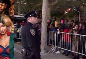 Cardi B entrega cientos de abrigos en Brooklyn