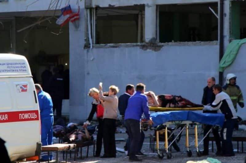 Al menos 17 muertos en ataque armado a colegio en Crimea