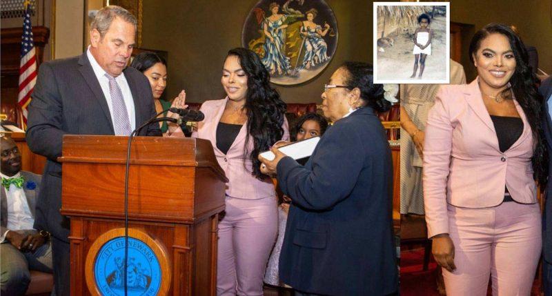 Dominicana jura como jueza municipal en Nueva Jersey