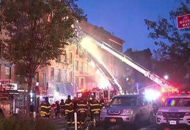 Fuego deja 15 heridos en Nueva York