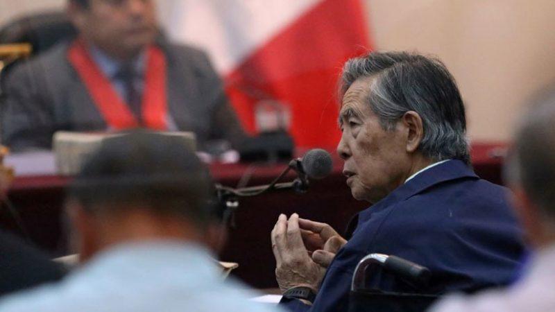 Apelaran fallo ordena volver a la cárcel a expresidente Fujimori
