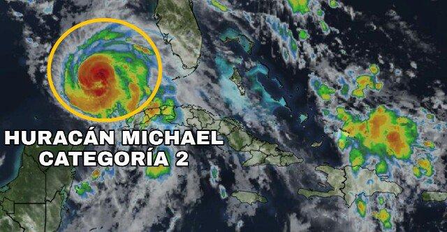 Huracán Michael gana intensidad mientras se acerca a Florida