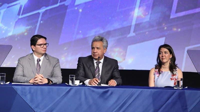 Lenín Moreno llama a empresarios invertir en Ecuador