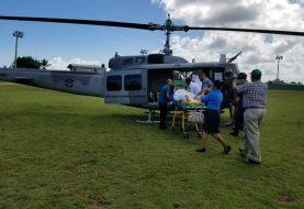 Trasladan a hospital Fuerzas Armadas militares heridos