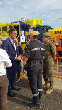 Pedro Sánchez visita Mallorca por tragedia riada