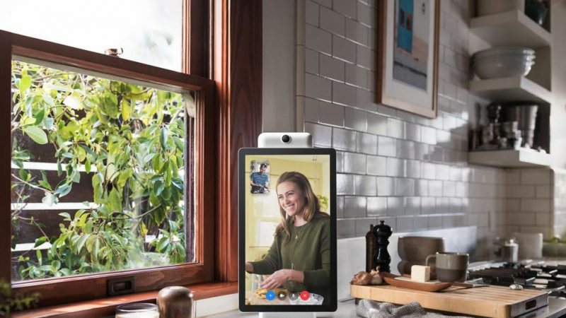 """Facebook lanza """"Portal"""", un dispositivo para videollamadas"""