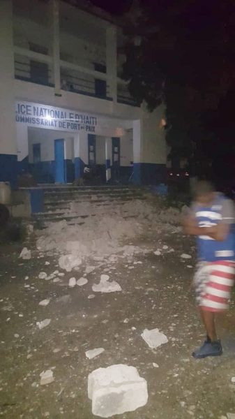 Sismo al noroeste de Haití deja 11 muertos
