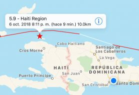 Sismo de 5.9 grados afecta el noroeste de Haití