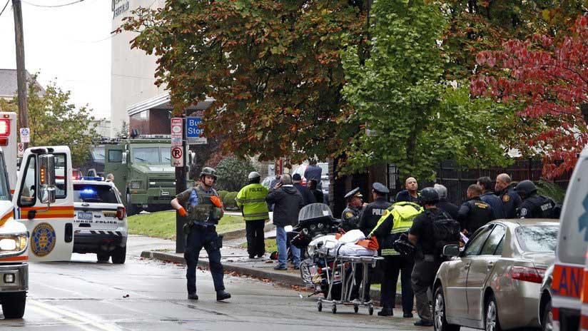 Identifican sospechoso tiroteo sinagoga Pittsburgh