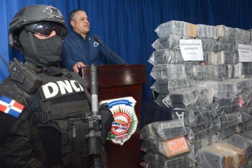978 paquetes cocaína ocupados en el puerto de Haina
