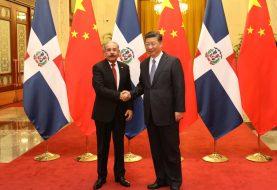 China: Danilo Medina y  Xi Jinping, sostienen reunión