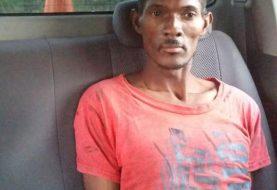 Hombre que mató mujer en Haína es apresado por la PN