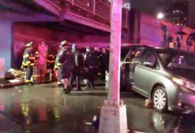 Un muerto y 4 heridos accidente en Chinatown NY