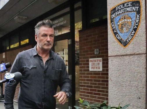 Alec Baldwin arrestado en Nueva York