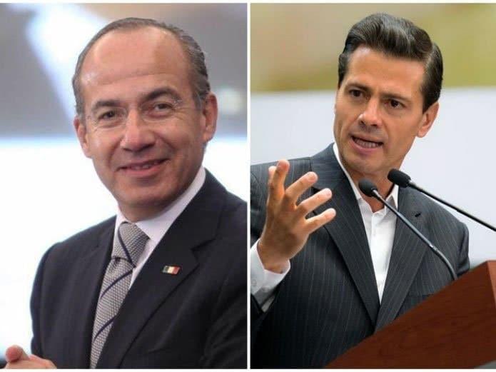 Peña Nieto y Calderón niegan recibieran sobornos millonarios