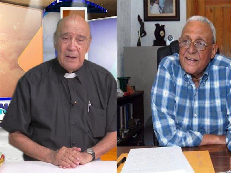 El padre César Hilario y Negro Veras ingresados en Corominas