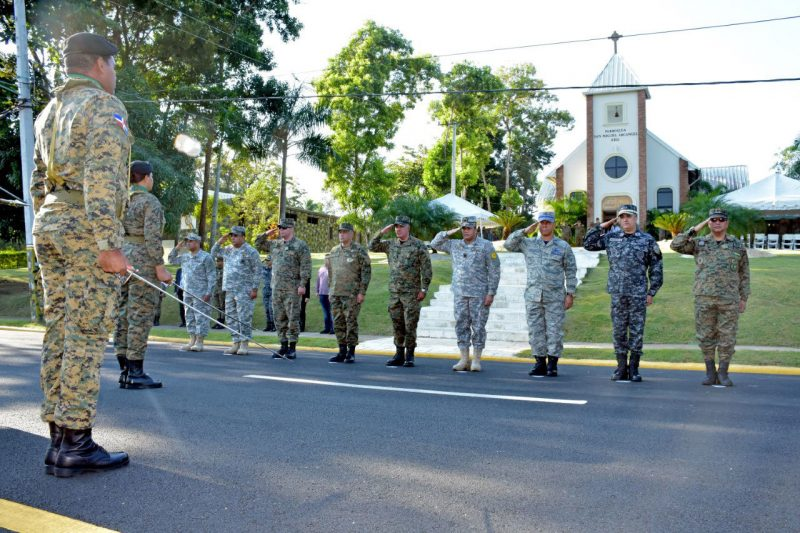 Ejército celebra con diversos actos aniversario fundación