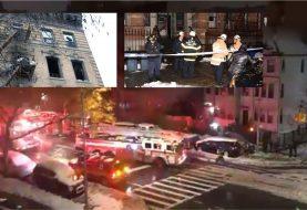 Una haitiana muerta y 11 lesionados fuego edificio Manhattan