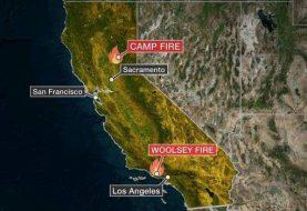 Sube a 66 cifra de muertos por incendios en California