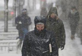Primera nevada en NY se espera para este martes