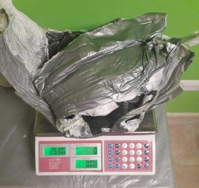 Peruana llegó a Punta Cana con pañal lleno de cocaína