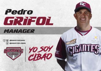 Pedro Grifol nuevo manager Gigantes del Cibao