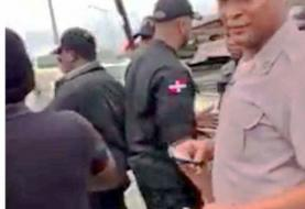 PN suspende teniente coronel tras incidente con civil
