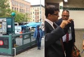 Concejal Ydanis Rodríguez anuncia reparación estación tren calle 168