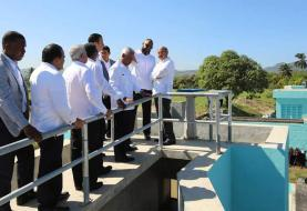 Danilo entrega planta de pretratamiento y emisario submarino