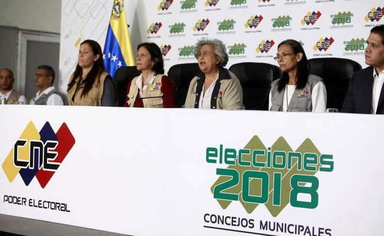 Abstención dominó elecciones concejales Venezuela