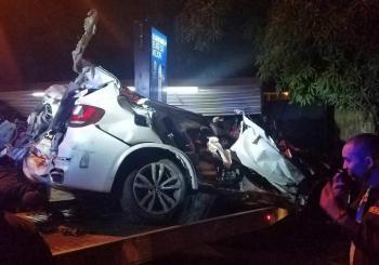 Dos muertos y un herido accidente avenida Estrella Sadhalá