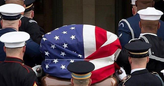 George Bush padre sepultado en Texas