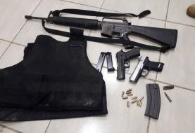 Recuperan fusil del caso recluso fugado en Nagua