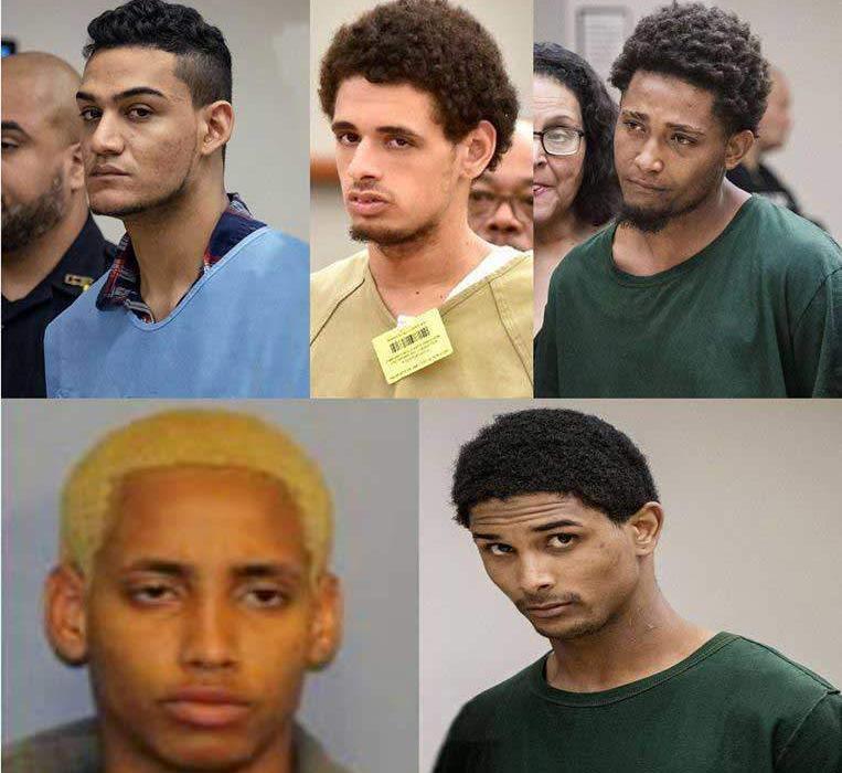Cinco pandilleros acusados de la muerte de Junior