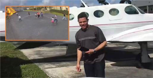 Conmoción por muerte de piloto dominicano