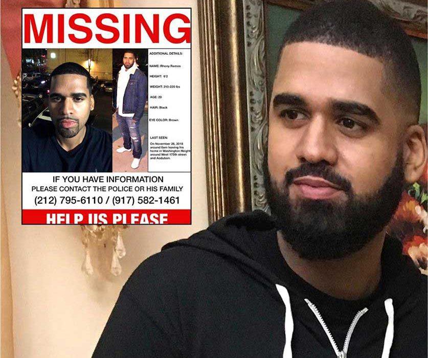 Encuentran muerto dominicano desaparecido en NY