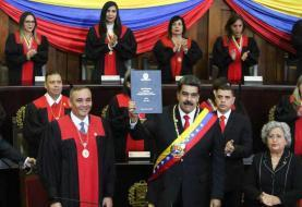 Maduro juramenta como presidente hasta 2025