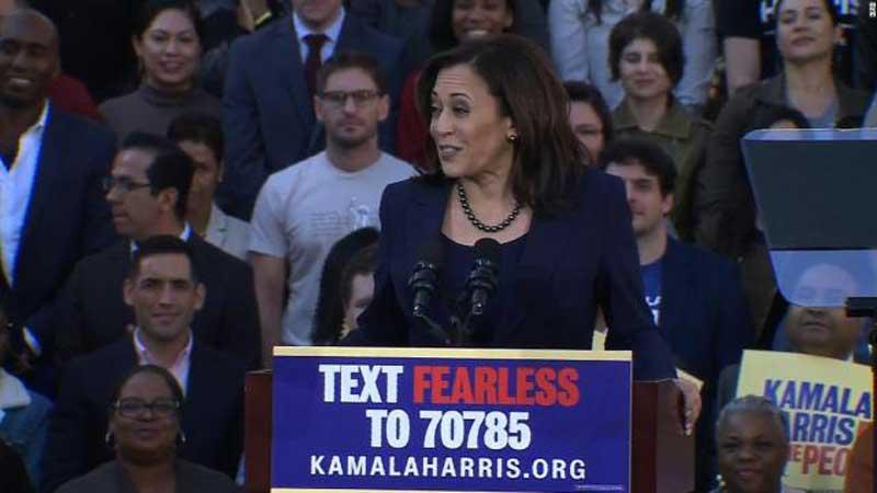 Kamala Harris abre formalmente su campaña presidencial