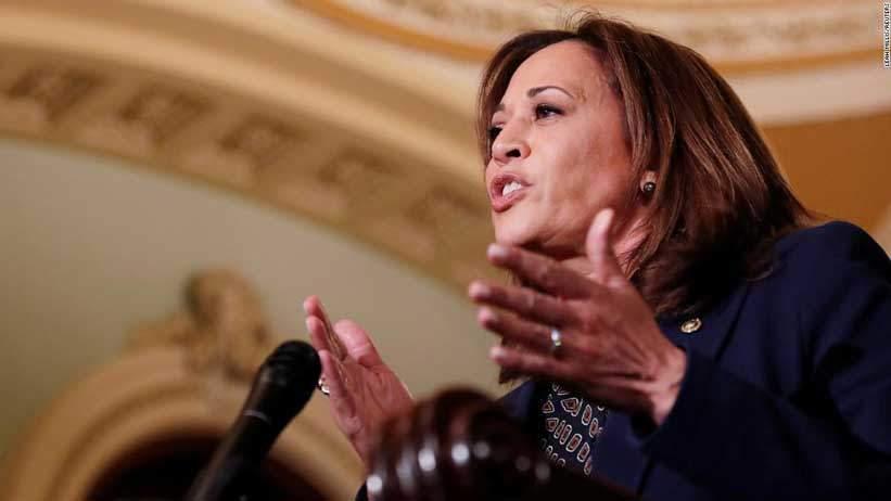 Kamala Harris se postulará para presidente en 2020