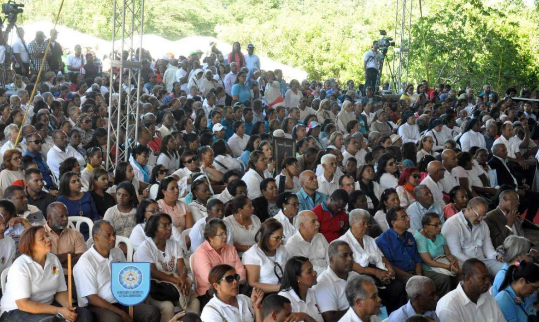 Recuerdan la primera misa en la Isabela hace 525 años
