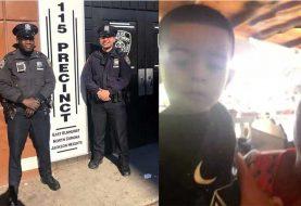 Policías salvan niño dominicano en Queens