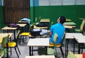 Pocos estudiantes en reinicio año escolar