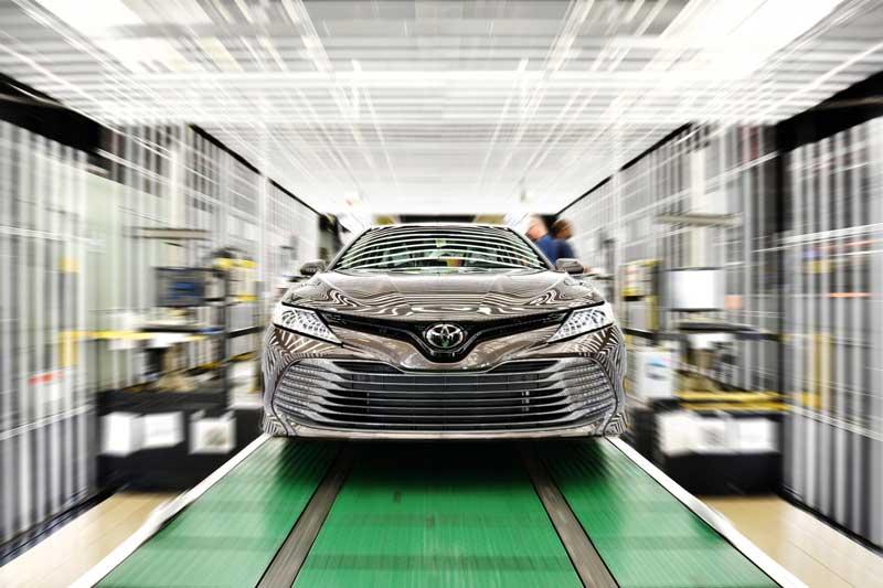 Toyota fabricó 1,935,230 vehículos en Norteamérica