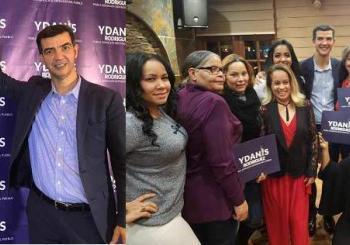 Masivo apoyo concejal Ydanis Rodríguez