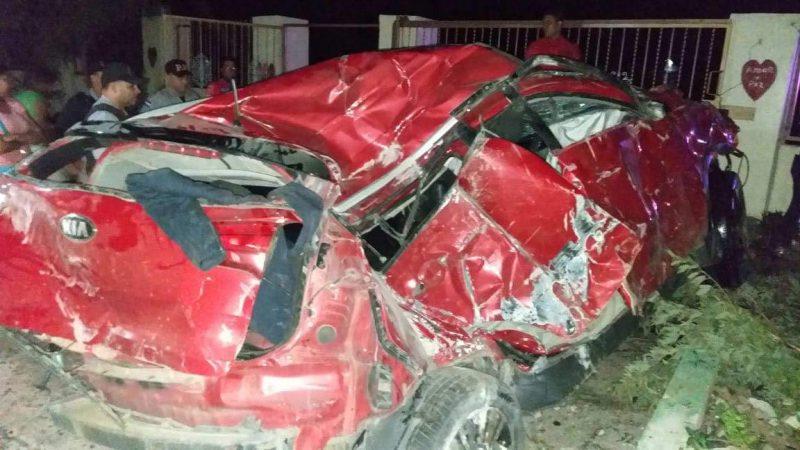 Cuatro muertos y un herido accidente Esperanza