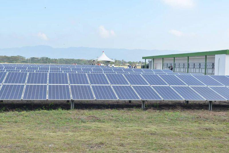 Aeropuerto Cibao pionero en  producción energía limpia