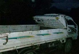 Dos muertos en vuelco de camión