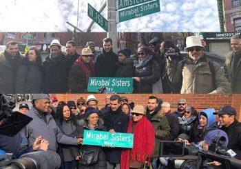 Dominicanos Alto Manhattan asisten acto honor Hermanas Mirabal
