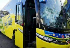 Chofer Caribe Tours mata de disparo motociclista
